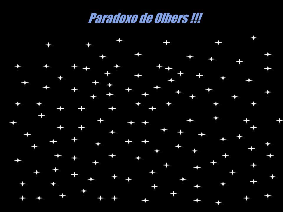 Paradoxo de Olbers !!!