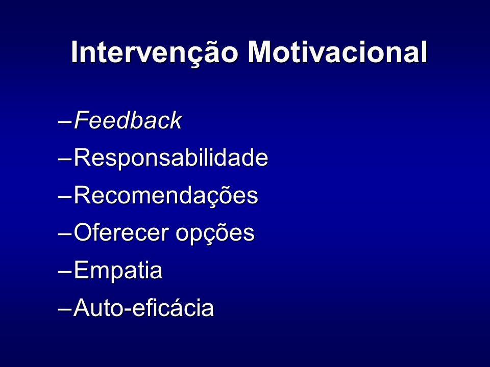Intervenção Motivacional