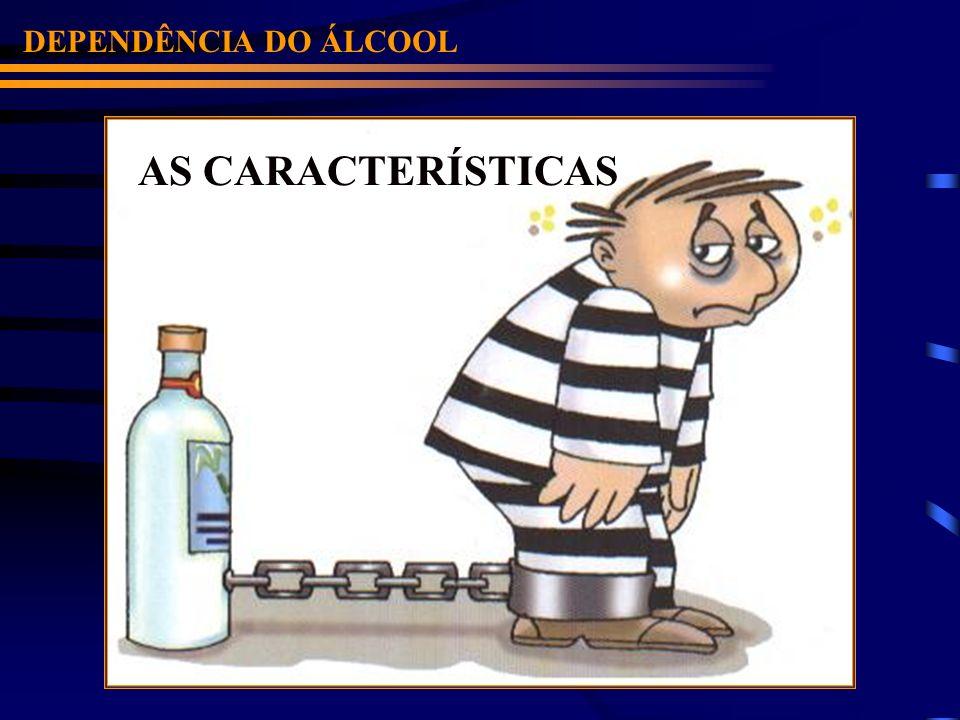 DEPENDÊNCIA DO ÁLCOOL AS CARACTERÍSTICAS