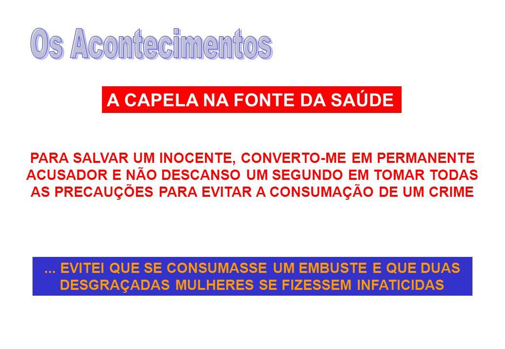 A CAPELA NA FONTE DA SAÚDE
