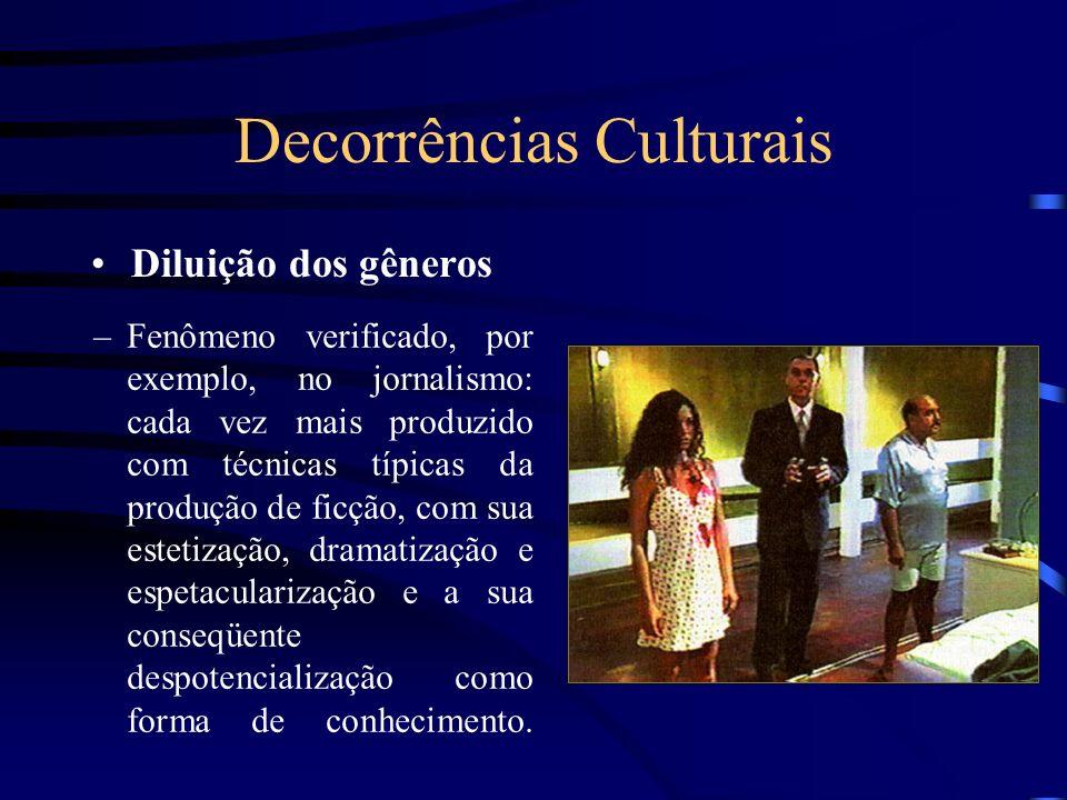 Decorrências Culturais