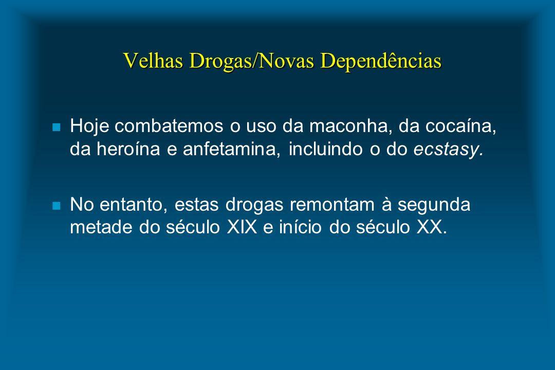 Velhas Drogas/Novas Dependências