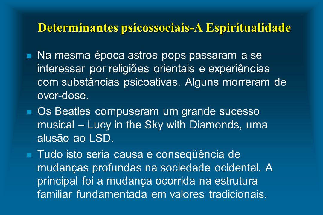 Determinantes psicossociais-A Espiritualidade