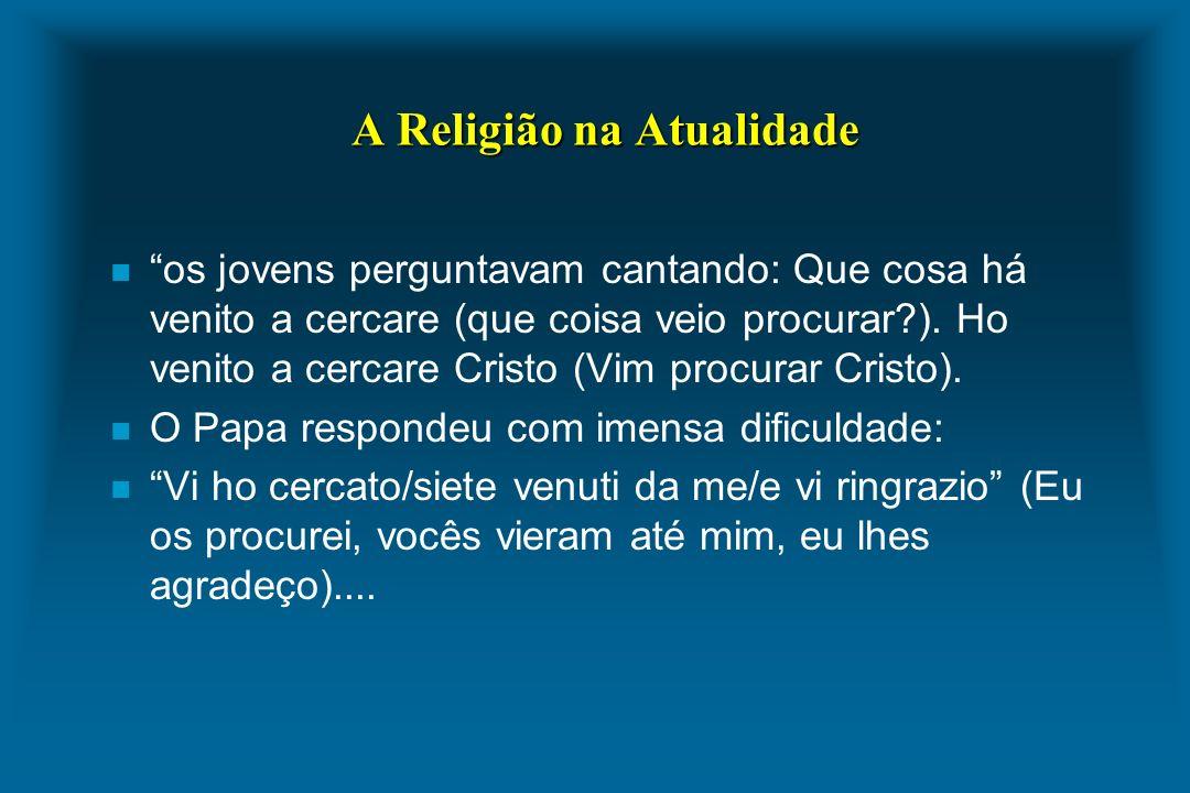 A Religião na Atualidade