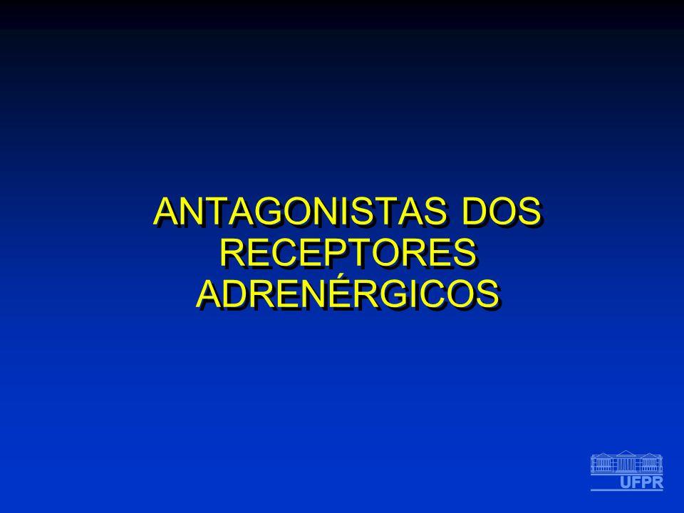 ANTAGONISTAS DOS RECEPTORES ADRENÉRGICOS