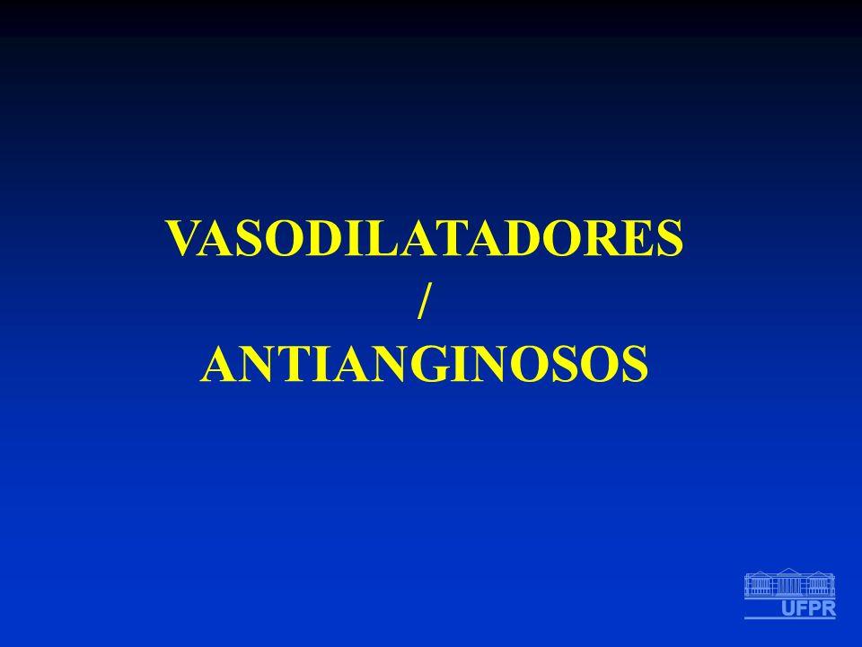 VASODILATADORES / ANTIANGINOSOS