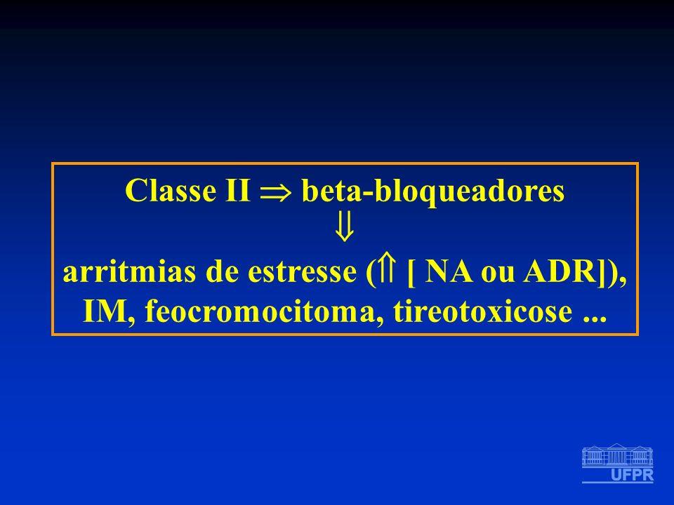 Classe II  beta-bloqueadores 