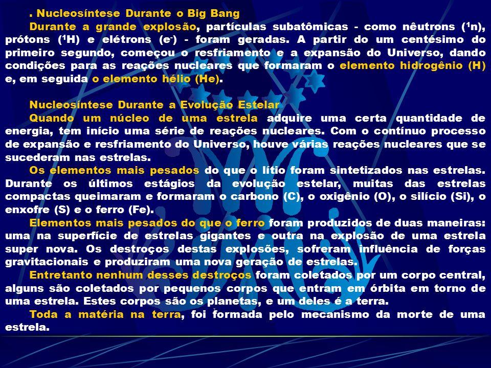 . Nucleosíntese Durante o Big Bang