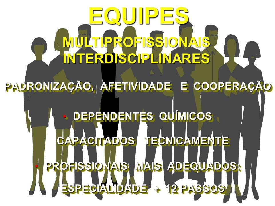 EQUIPES MULTIPROFISSIONAIS INTERDISCIPLINARES