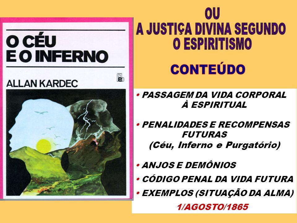 A JUSTIÇA DIVINA SEGUNDO