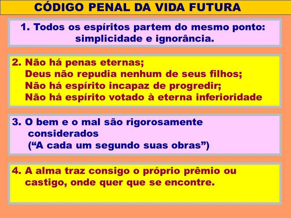 CÓDIGO PENAL DA VIDA FUTURA