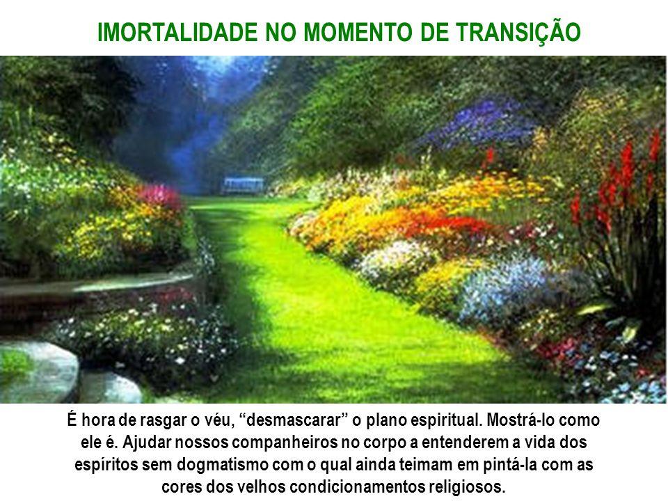 IMORTALIDADE NO MOMENTO DE TRANSIÇÃO