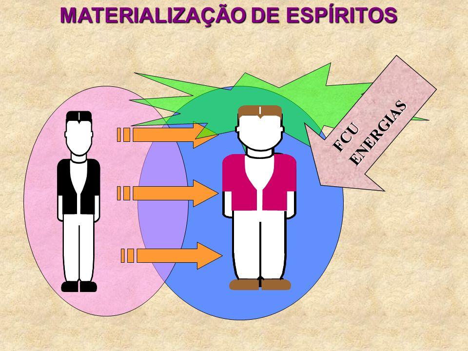 MATERIALIZAÇÃO DE ESPÍRITOS