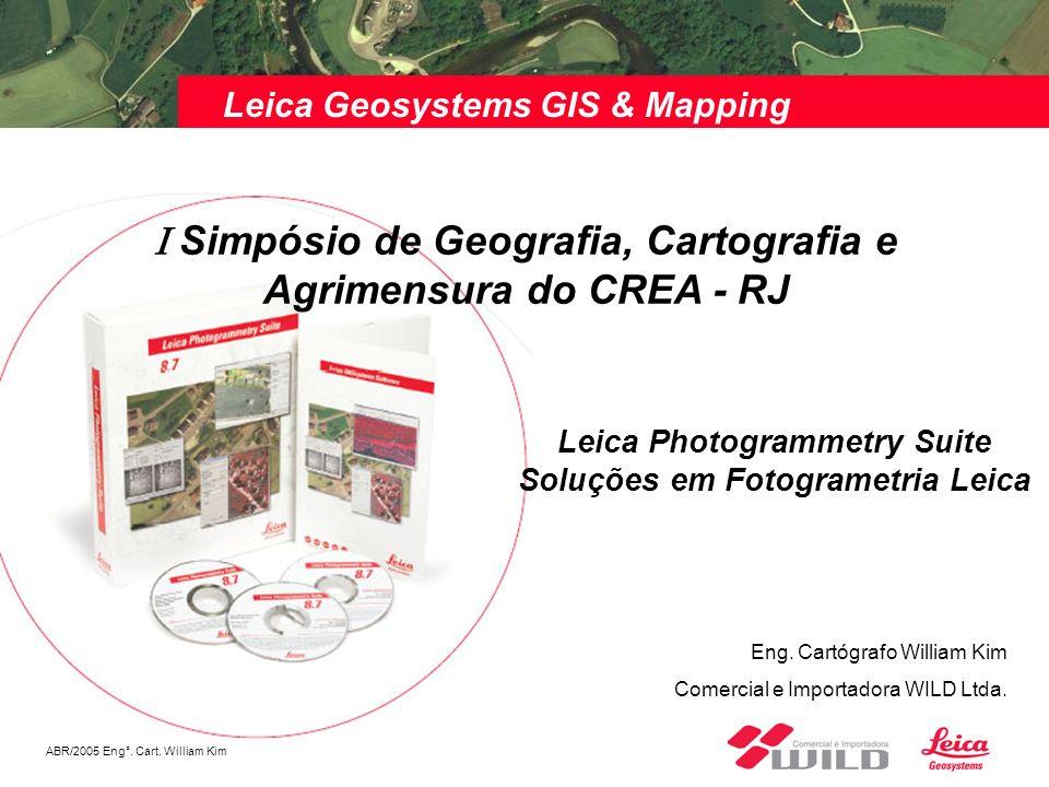 I Simpósio de Geografia, Cartografia e Agrimensura do CREA - RJ