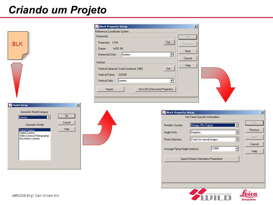 Criando um Projeto .BLK