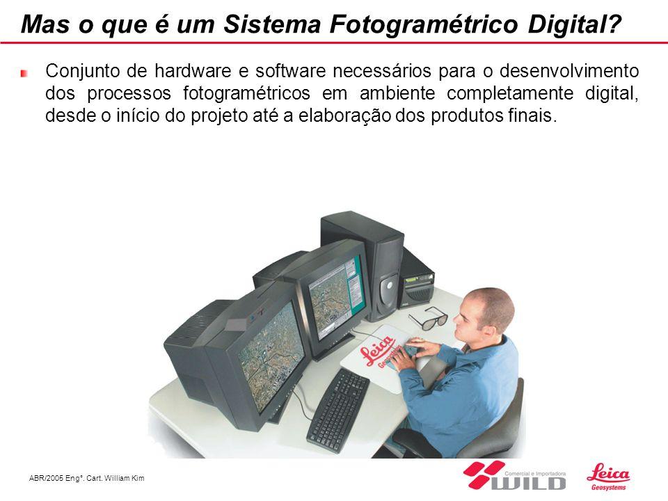 Mas o que é um Sistema Fotogramétrico Digital