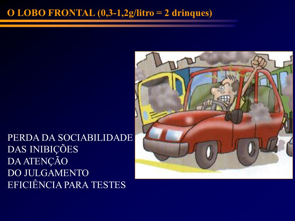 O LOBO FRONTAL (0,3-1,2g/litro = 2 drinques)