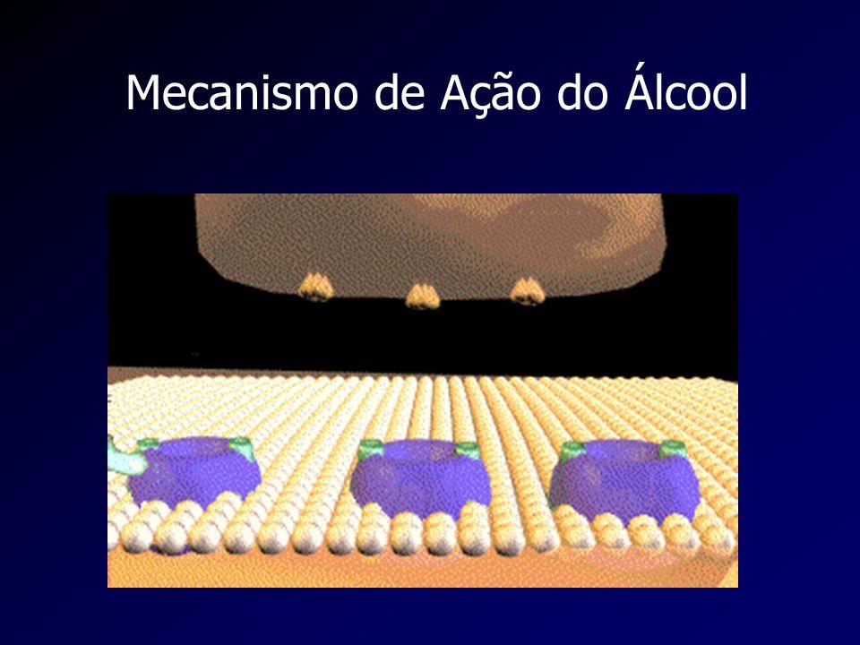 Mecanismo de Ação do Álcool