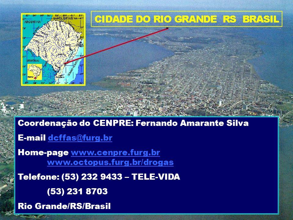 Coordenação do CENPRE: Fernando Amarante Silva