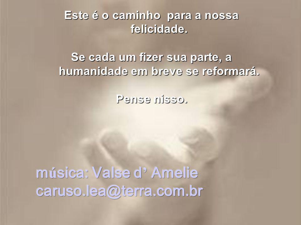música: Valse d' Amelie caruso.lea@terra.com.br