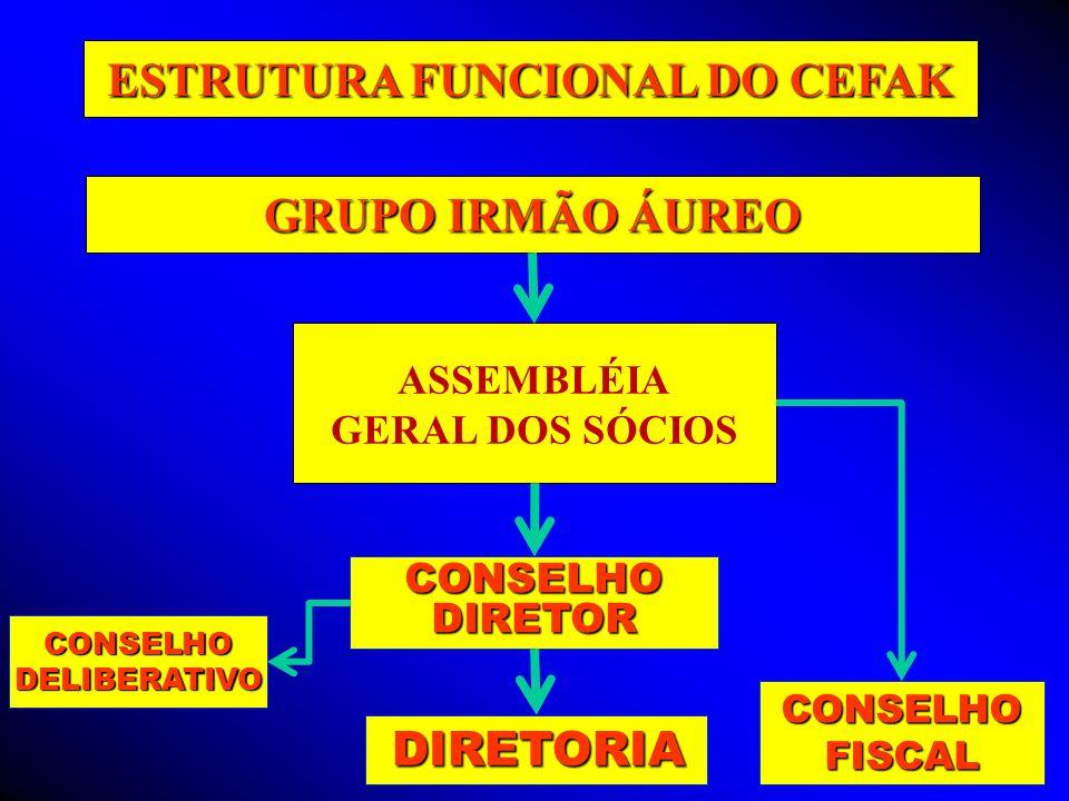 ESTRUTURA FUNCIONAL DO CEFAK