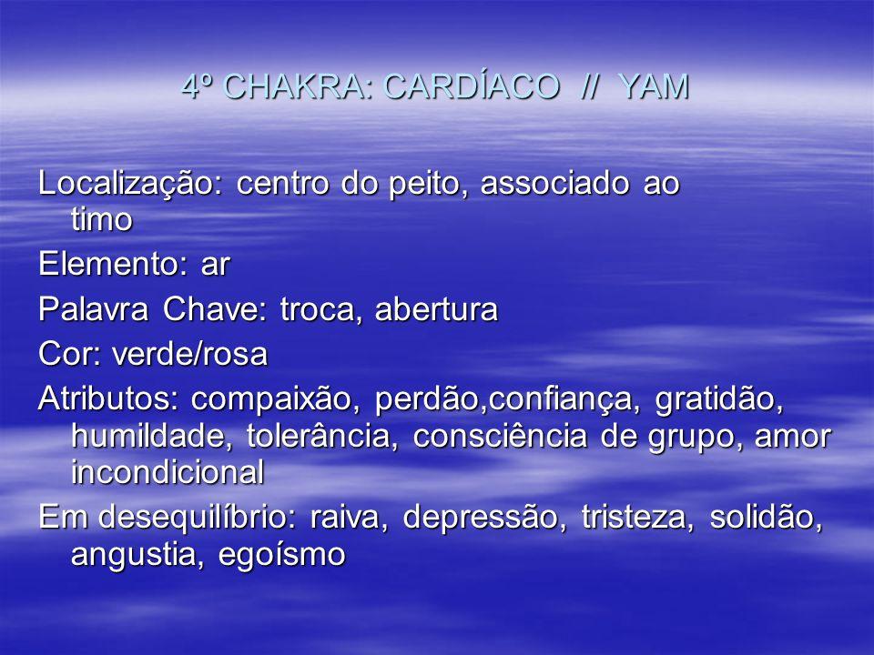 4º CHAKRA: CARDÍACO // YAM