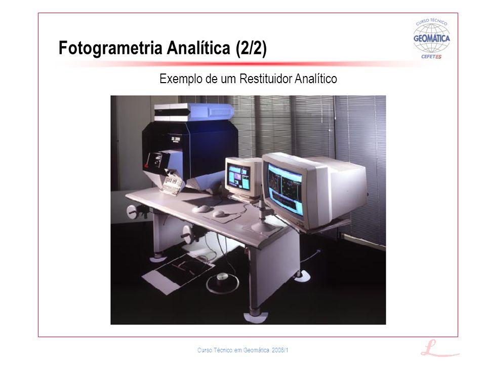 Fotogrametria Analítica (2/2)