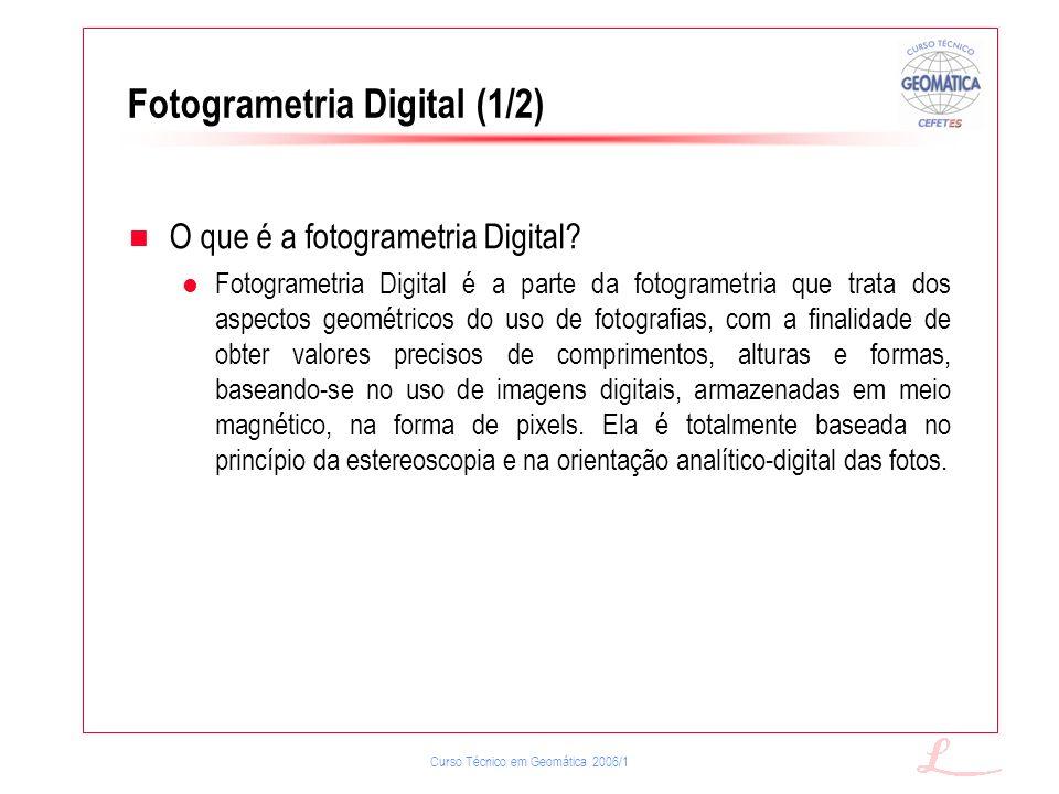 Fotogrametria Digital (1/2)