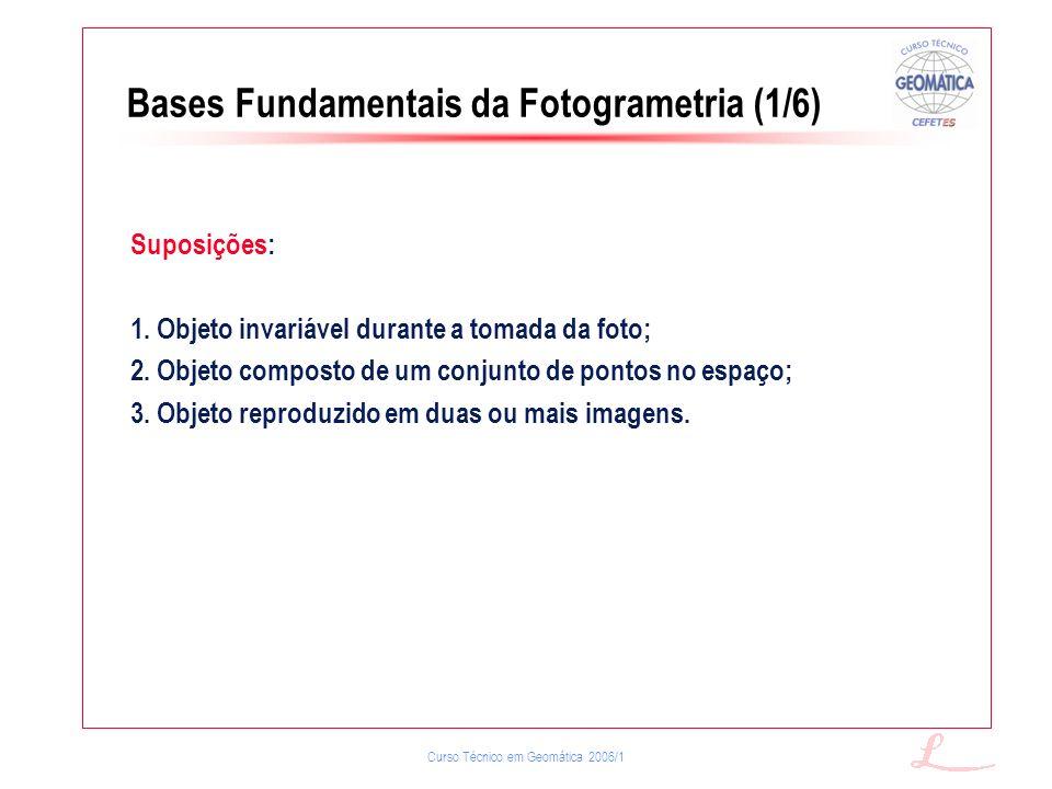 Bases Fundamentais da Fotogrametria (1/6)