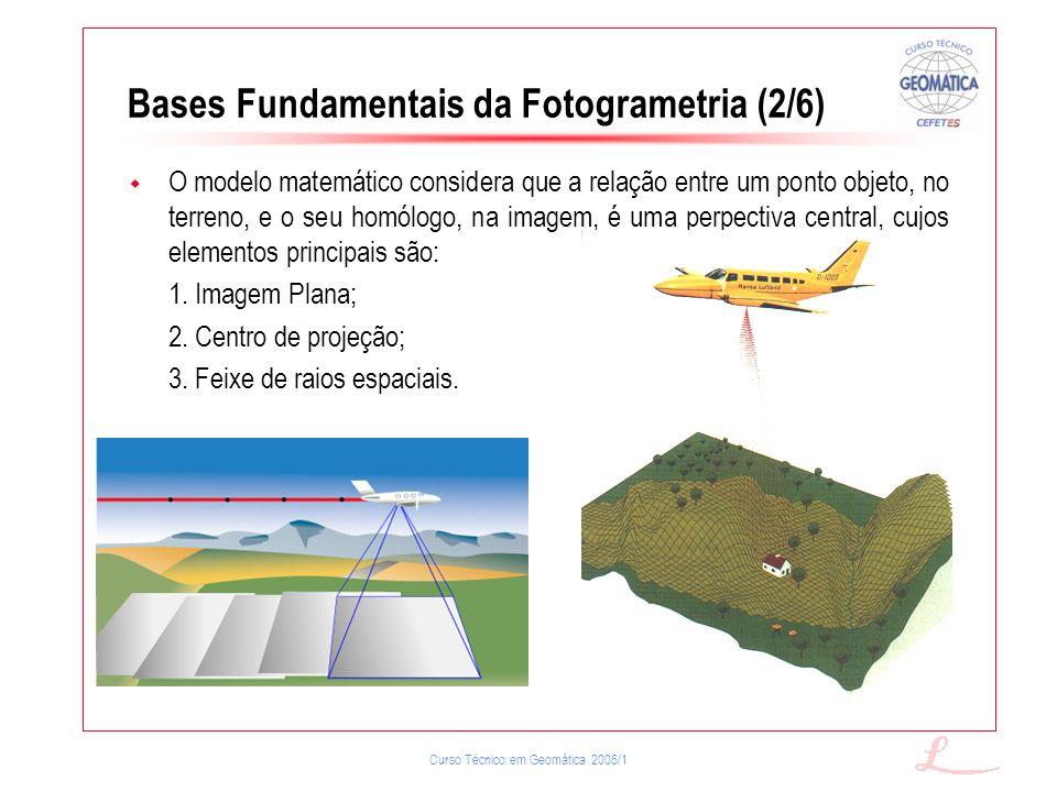 Bases Fundamentais da Fotogrametria (2/6)