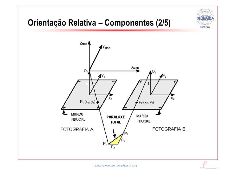 Orientação Relativa – Componentes (2/5)