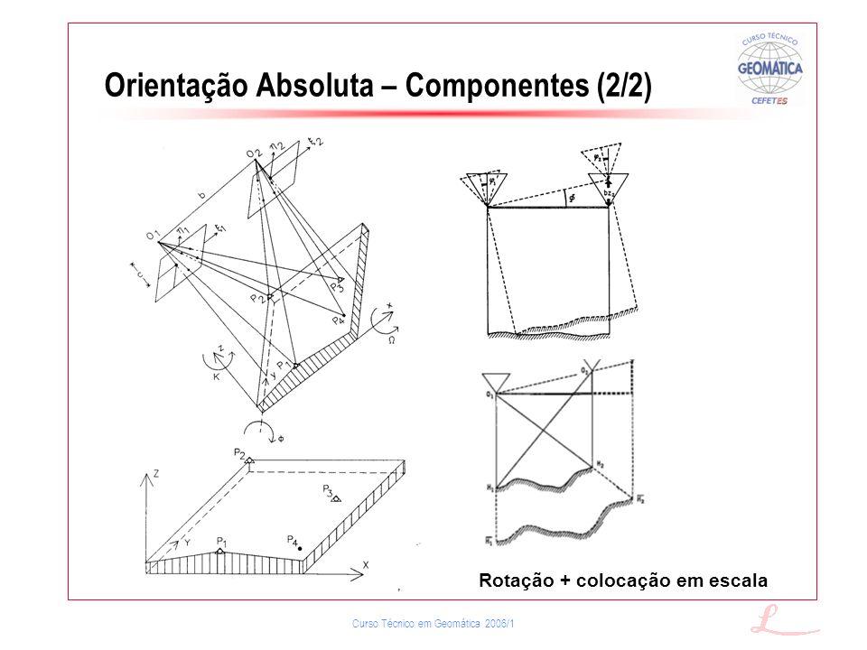 Orientação Absoluta – Componentes (2/2)