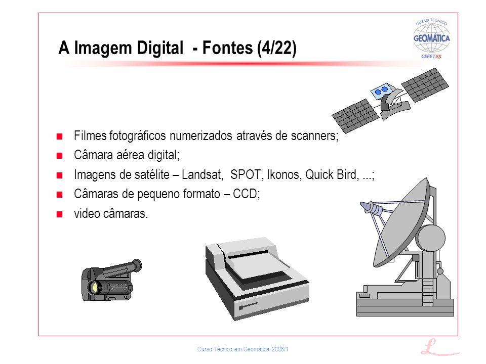 A Imagem Digital - Fontes (4/22)