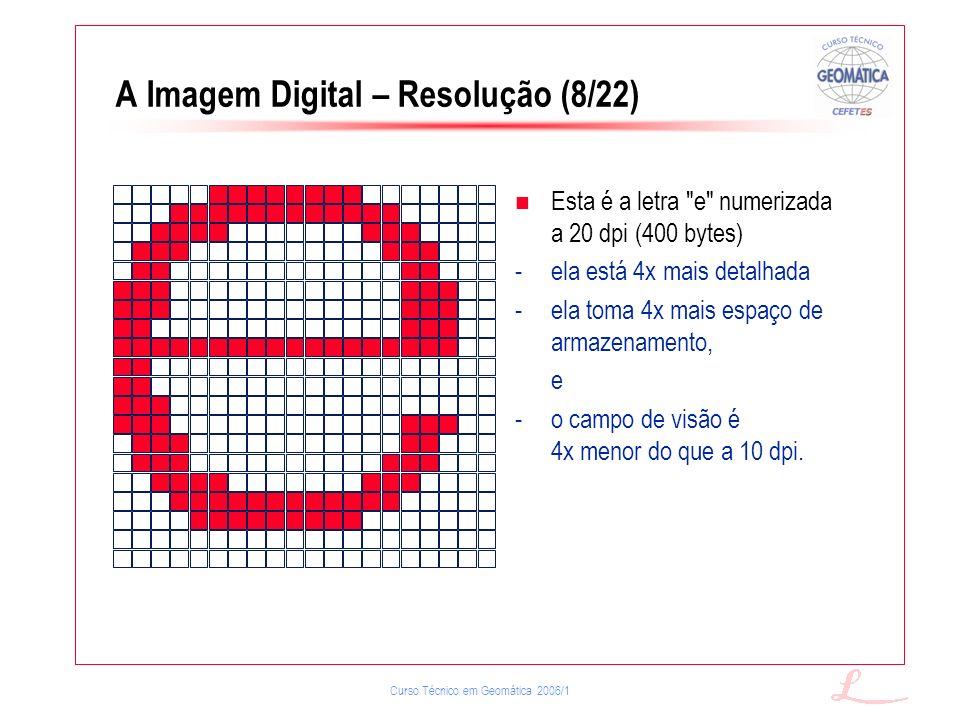 A Imagem Digital – Resolução (8/22)