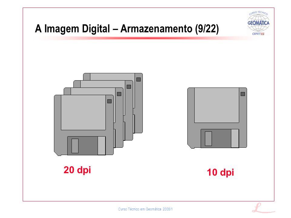 A Imagem Digital – Armazenamento (9/22)