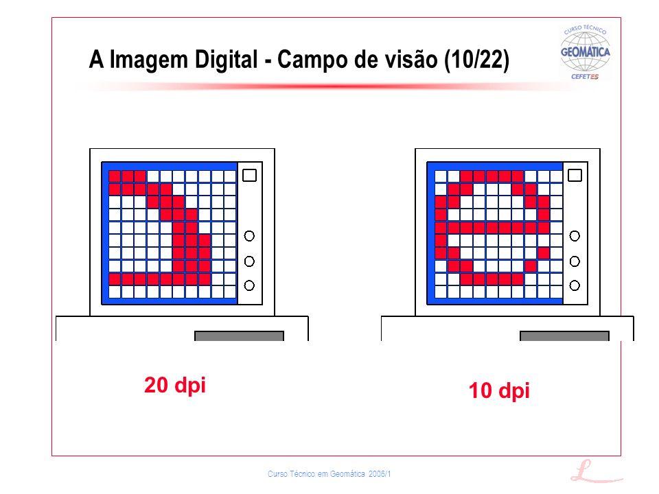 A Imagem Digital - Campo de visão (10/22)