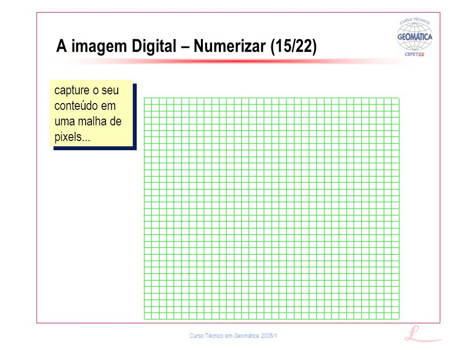 A imagem Digital – Numerizar (15/22)