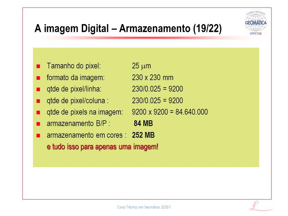 A imagem Digital – Armazenamento (19/22)