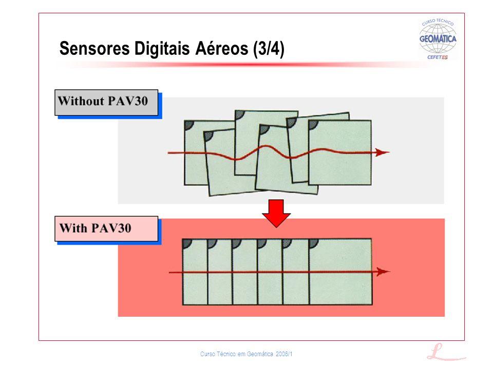 Sensores Digitais Aéreos (3/4)