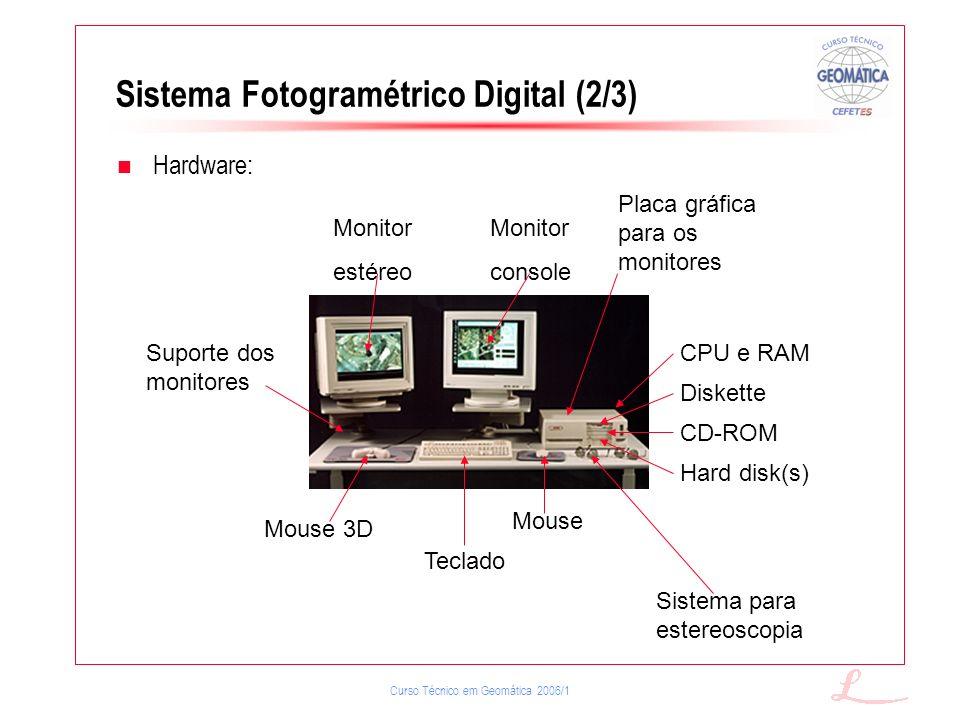 Sistema Fotogramétrico Digital (2/3)