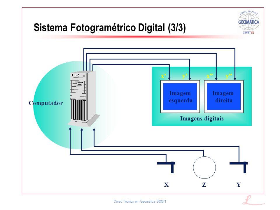 Sistema Fotogramétrico Digital (3/3)
