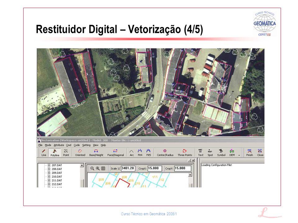 Restituidor Digital – Vetorização (4/5)
