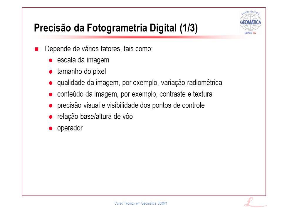 Precisão da Fotogrametria Digital (1/3)