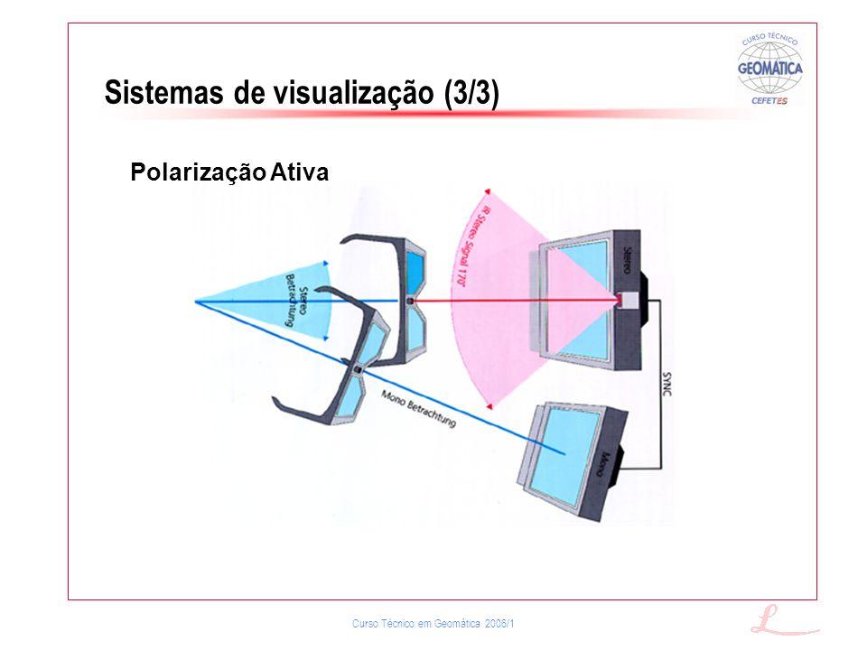 Sistemas de visualização (3/3)