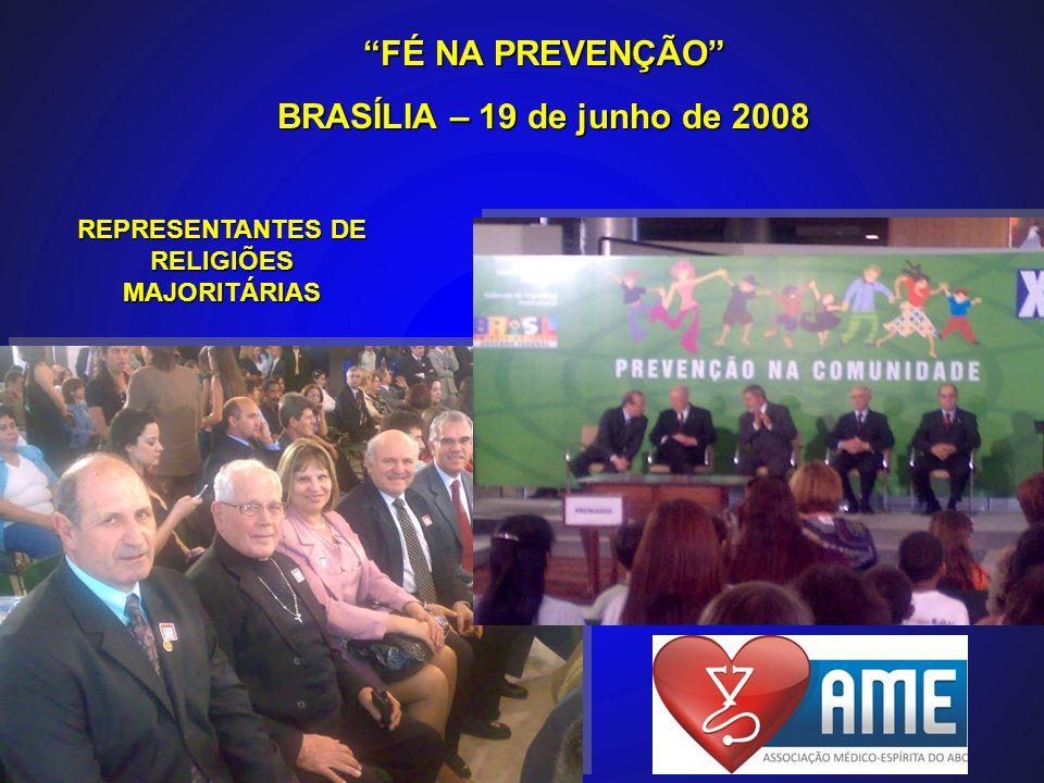 REPRESENTANTES DE RELIGIÕES MAJORITÁRIAS