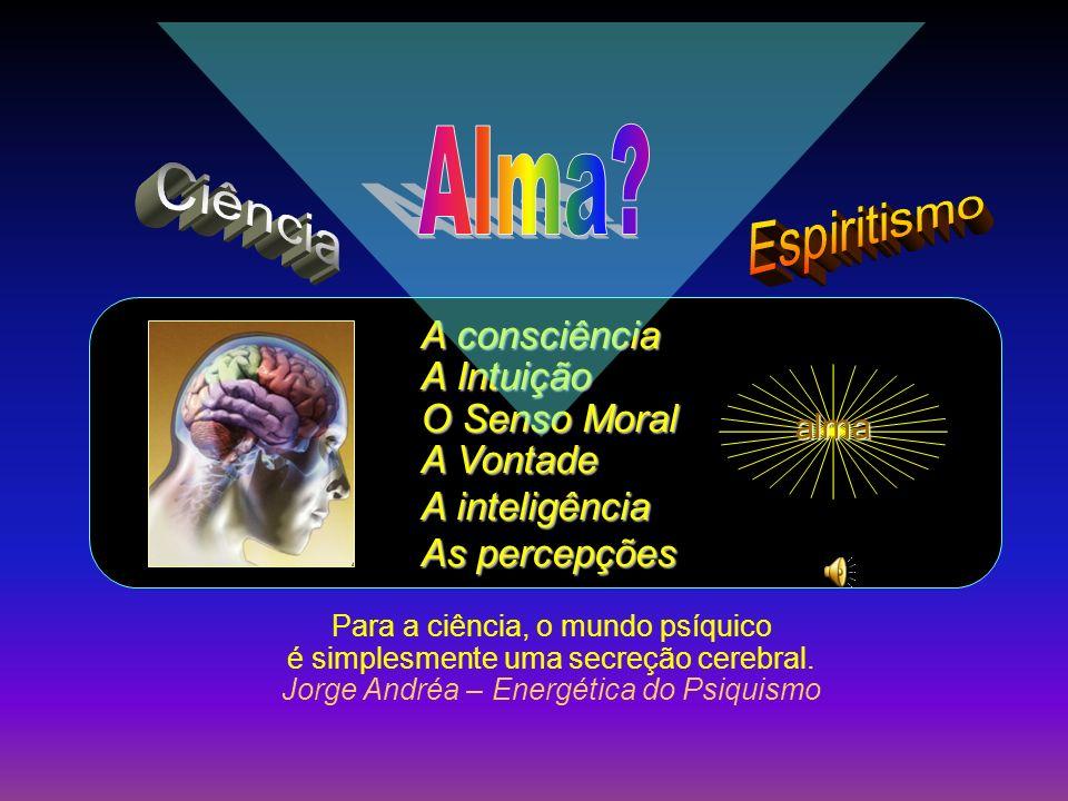Alma Ciência Espiritismo A consciência A Intuição O Senso Moral