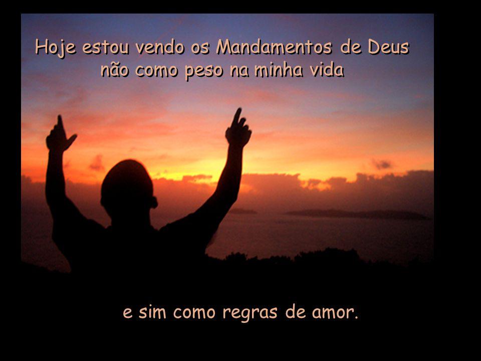 """Os Mandamentos Na Vida Cristã: """"Eu Vos Louvarei, Senhor, De Todo Coração""""."""