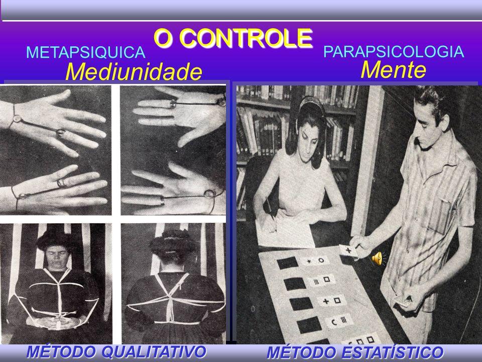 O CONTROLE Mente Mediunidade METAPSIQUICA PARAPSICOLOGIA