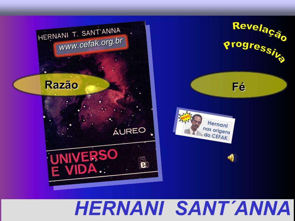 www.cefak.org.br Revelação Progressiva Razão Fé HERNANI SANT´ANNA