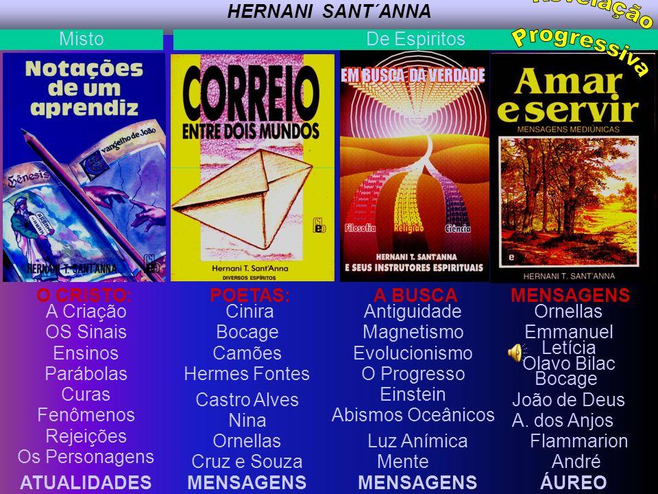 Revelação Progressiva HERNANI SANT´ANNA Misto De Espiritos O CRISTO: